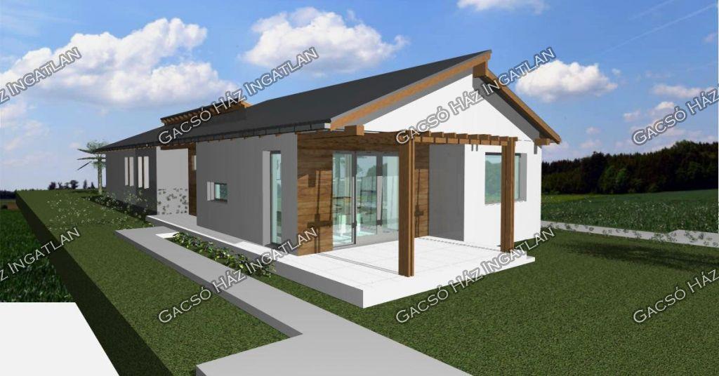 Eladó 70 m2 ház - Nagytarcsa